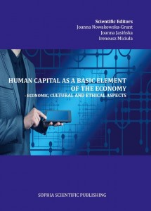 Human Capital as a basic element of the economy. Economic. Cultural and ethical aspects